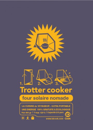 FOUR SOLAIRE NOMADE TROTTER COOKER